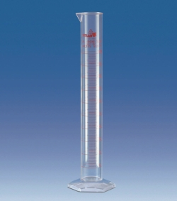 Graduated cylinders, PMP, Class A, tall form