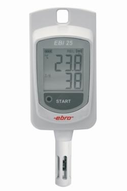 Enregistreur de température/humidité radio EBI 25-TH