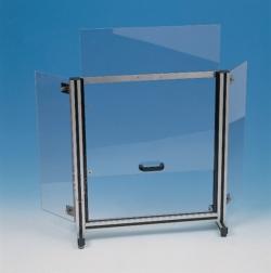 Schermo di protezione da laboratorio Polycarbonat® WWW-Interface