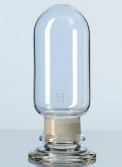 Vase à échantillons en verre DURAN® à bouchon rodé