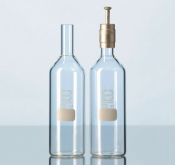 Culture media bottles DURAN®, glass, cylindrical