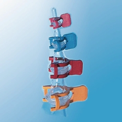 Joint clips KECK, POM, for spherical ground joints