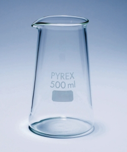 Beaker, Pyrex<SUP>®</SUP>, forma conica