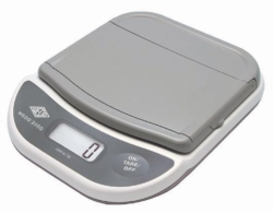 Electronic letter scale