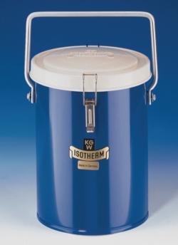 Vase Dewar transportable, cylindrique, pour le CO2 et LN2