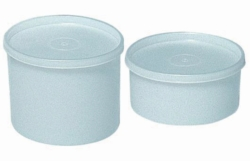 Universal -jars, HDPE with cap,  LDPE