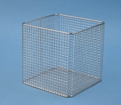 Wire baskets, stainless steel