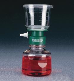 Unidades de filtración, membrana de nitrato de celulosa, estériles