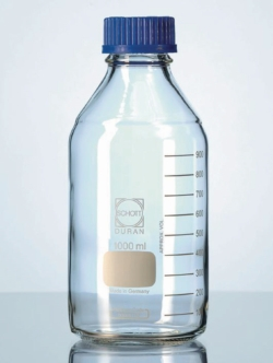 Laboratory bottles, DURAN®, with retrace code, with screw cap