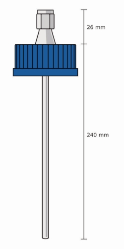 Screw Cap GL 45 thermocouple holder, DURAN®