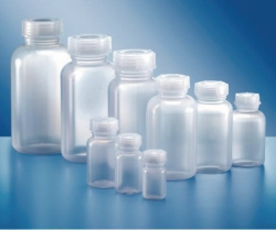 Wide-mouth bottles, series 303, HDPE