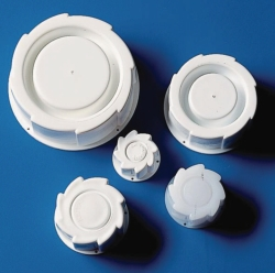 Screw caps, HDPE