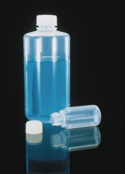 Narrow-mouth bottles  Nalgene™ Type 1600, FEP with screw cap ETFE