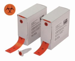 "LLG-Labels with ""Biohazard"" Symbol"