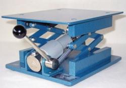 Laboratory jacks with hydraulic drive, stainless steel LLG WWW-Catalog