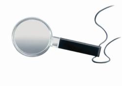 Magnifying lens, economic