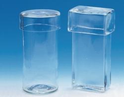 Färbezylinder, Glas