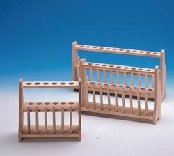Soportes de madera para tubos de ensayo