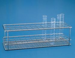 Reagenzglasgestell, Edelstahldraht