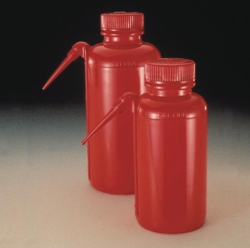 Pissette en polyéthylène rouge à col large Type DS2408, Nalgene™ Unitary™, LDPE