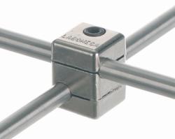 Nuez en cruz, forma de ángulo recto, aleación de aluminio