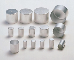 Tapones de aluminio, aluminio puro