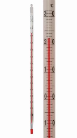 Thermomètre basse température LLG, - 200 à + 30 °C