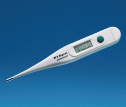 Termómetro clínico, digital/vidrio