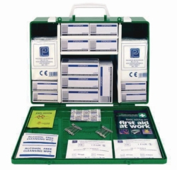 Erste-Hilfe-Verbandkasten, UK-Standard