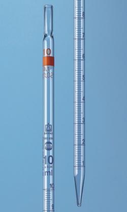 Messpipetten mit völligem Ablauf, AR-glas®, Klasse AS, blau graduiert, Typ 2