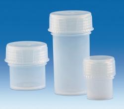 Sample jars with screw cap, PFA