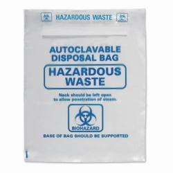 LLG-Entsorgungsbeutel, PP, mit Biohazard-Aufdruck