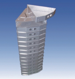 Triangular racks for LO 2075 series cryogenic dewars