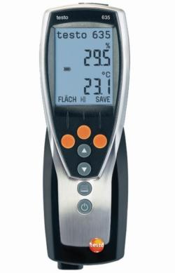 Precisie luchtvochtigheids-/temperatuurmeter 635