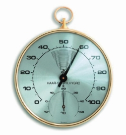 Thermohygrometer, analogue LLG WWW-Catalog