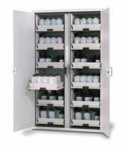 Cabinets for Acids and Alkalis SL-CLASSIC with Wing Doors