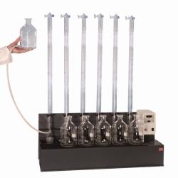 Apparatur zur Bestimmung des Faulverhaltens in Schlamm und Sediment