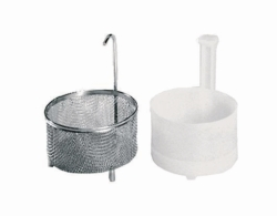 Inset baskets for SONOREX insert beakers