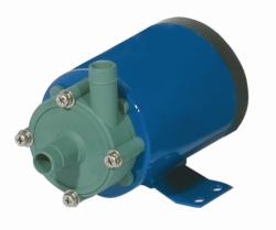 Horizontal centrifugal pumps, magnetically coupled