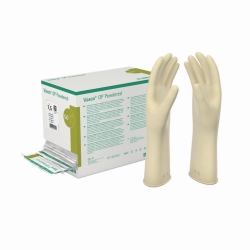 Gants à usage unique Vasco® Powdered, latex, poudrés