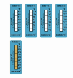 Thermomètre ruban testoterm® 8 températures