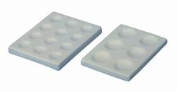 LLG-Tüpfelplatten, Porzellan
