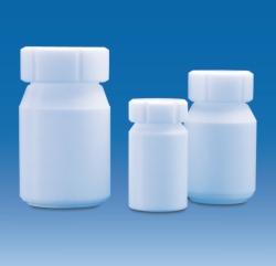 Weithalsflaschen mit Schraubverschluss, PTFE LLG WWW-Katalog
