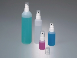 Spray bottles with pump vapouriser