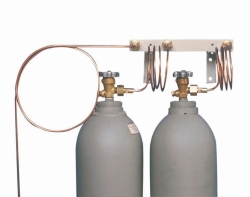 Distribution Lines for Safety Cooling System with CO2