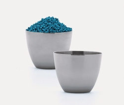 LLG-Crucibles, stainless steel