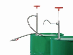 Barrel pumps, stainless steel