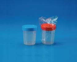 Multi-purpose beakers with screw cap, PP
