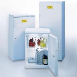Laboratoriumkoelkasten met explosievrije binnenruimte, tot +1 °C