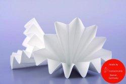 Filter paper Type 2095, low on nitrogen, folded filters LLG WWW-Catalog